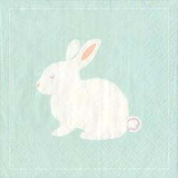 30ct Spring Bunny Beverage Napkin - Spritz™