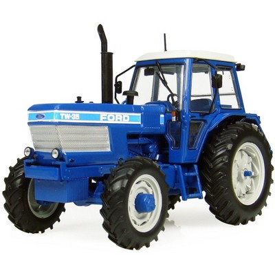 1983 Ford TW-35 4X4 Tractor with Cabin 1/32 Diecast Model by Universal Hobbies