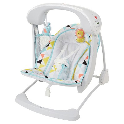 Fisher-Price Deluxe Take-Along Swing and Seat - Windmill