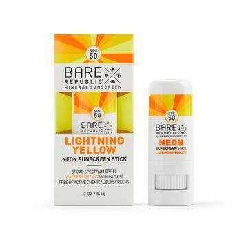 Sunscreen & Tanning: Bare Republic Neon Color Stick