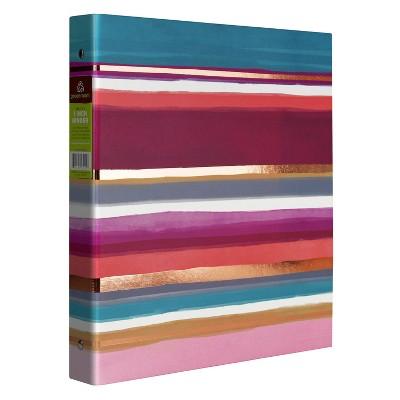 "1"" Ring Binder Thick Stripes - greenroom"