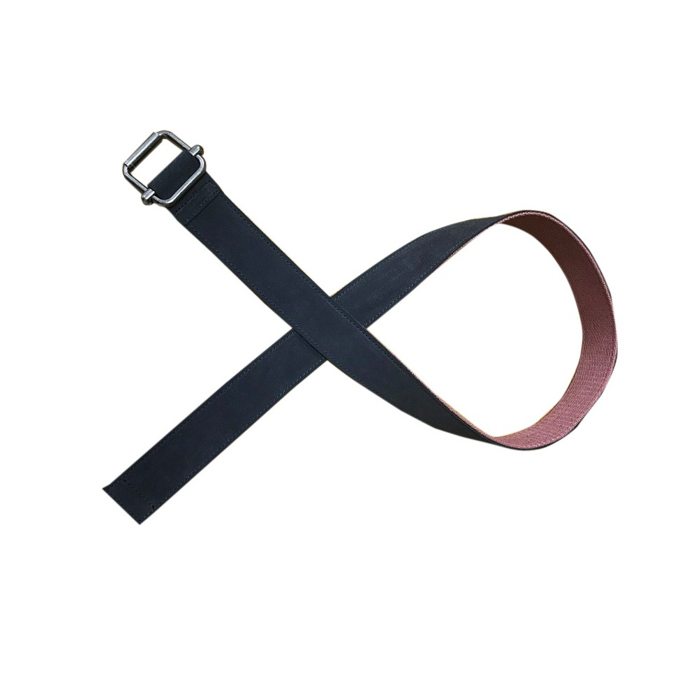 Men's Suede Belt - Goodfellow & Co Gray L