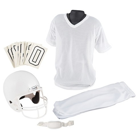 Franklin Sports Youth Medium Football Uniform Set - White - image 1 of 3