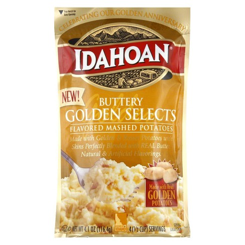 Idahoan Buttery Golden Selects Flavored Mashed Potatoes 4 oz - image 1 of 1