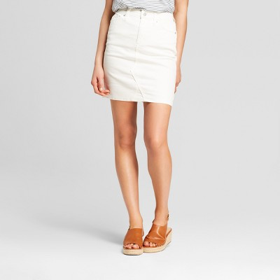 6582b5f58f Womens Denim Skirt – Universal Thread™ White 16 – Target Inventory ...