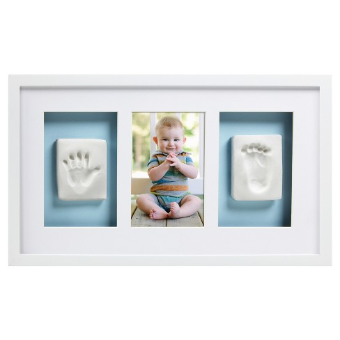 Pearhead Babyprints Hand & Foot Wall Frame - White - image 1 of 4
