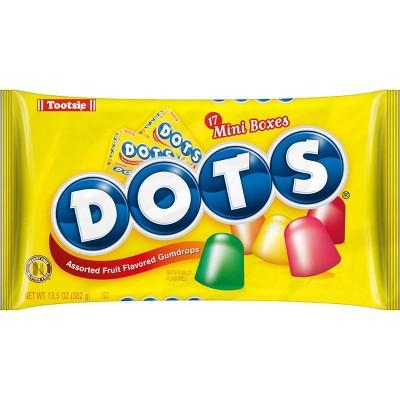 Dots Flavored Gumdrops Halloween Snack Size - 13.5oz/17ct