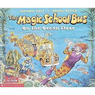 Magic School Bus on the Ocean Floor (Reprint)(Paperback)(Joanna Cole)