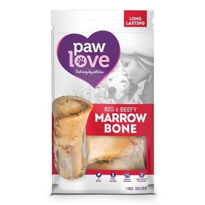 Paw Love Big & Beefy Marrow Bone Dog Treats