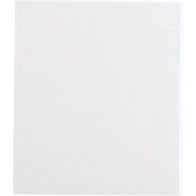 """0.5"""" Ring Binder Clear View White - up & up™"""