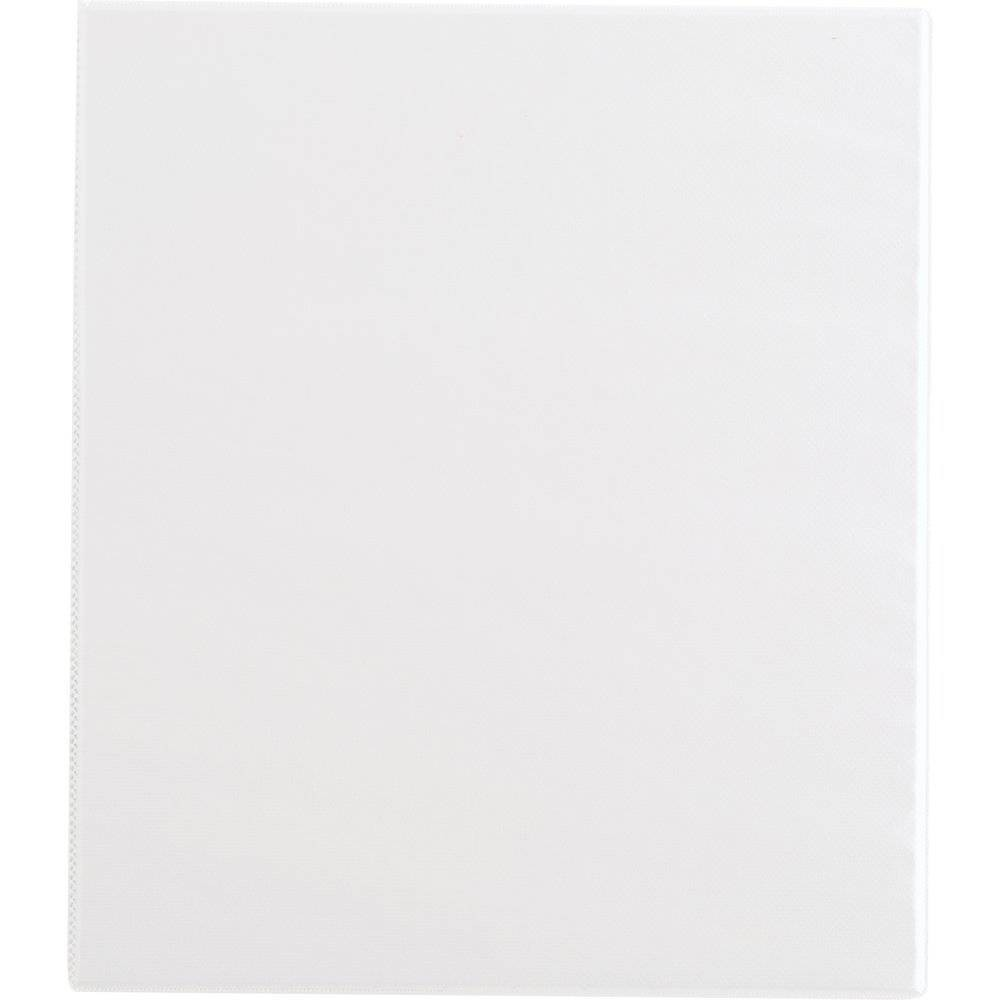 "Image of ""0.5"""" Ring Binder Clear View White - Up&Up"""