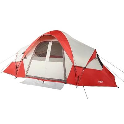 Wenzel Bristlecone 8 Person Cabin Tent - Rust