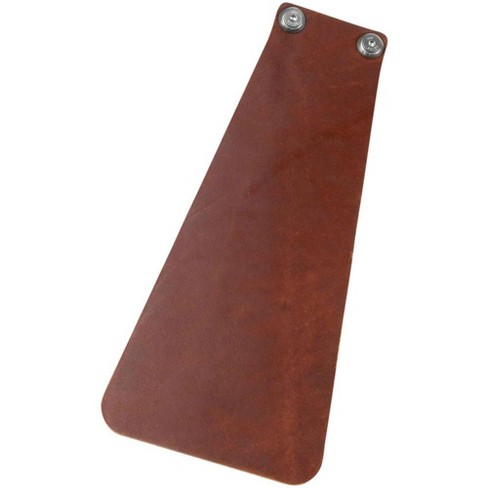 Velo Orange Handcut Long Leather Mud flap for Bicycle Fender Brown w/Hardware - image 1 of 1