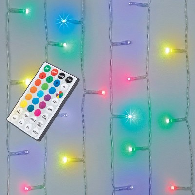 LED RGB Curtain Lights with Remote - West & Arrow
