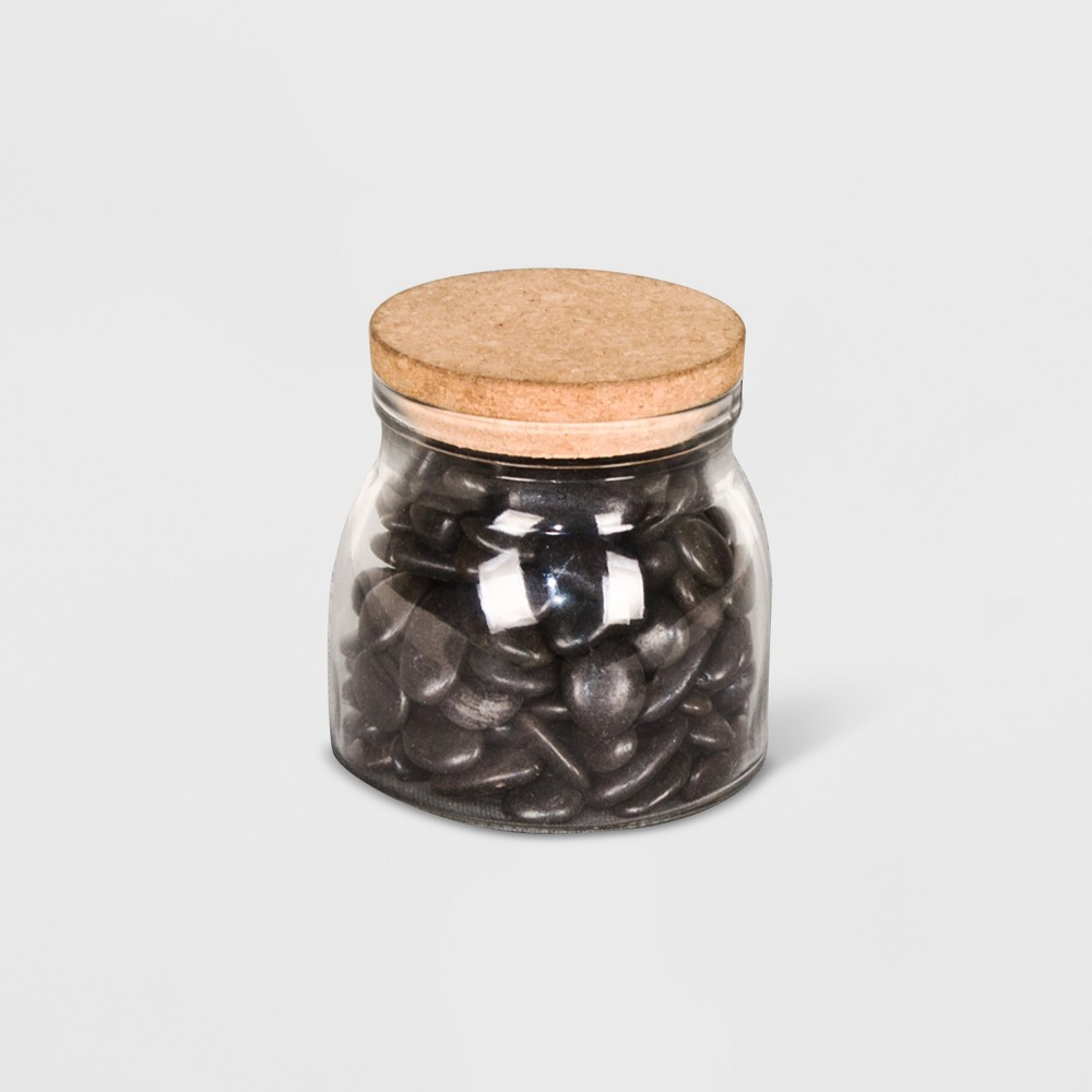 Rocks In A Jar Black - Smith & Hawken