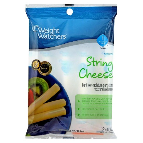 Weight Watchers Mozzarella String Cheese Sticks - 12ct - image 1 of 1