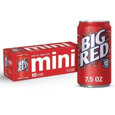 Big Red Soda - 10pk/7.5 fl oz Mini Cans