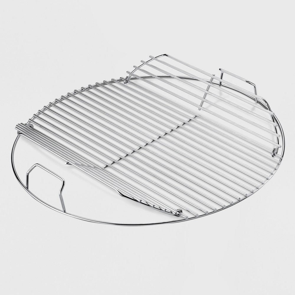 Weber 18 Hinged Cooking Grate, Silver 14296355