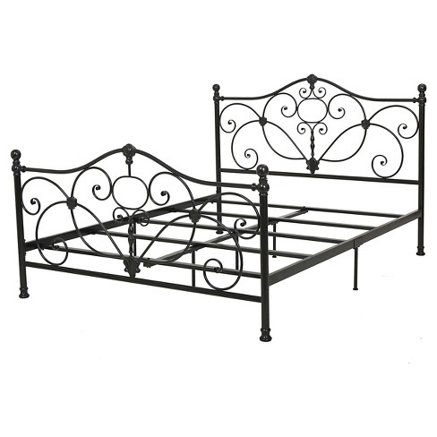 Marcus Metal Bed King Charcoal - Christopher Knight Home - image 1 of 4