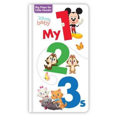 Disney Baby: My 123s - (Board Book)
