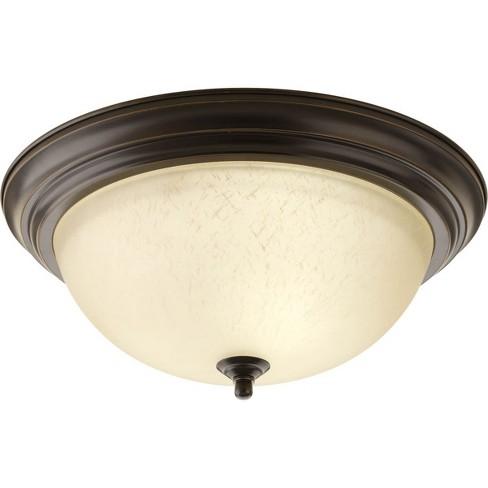 "Progress Lighting P3926-EUL 15-1/4"" Three Light Flush Mount Ceiling Fixture - image 1 of 1"