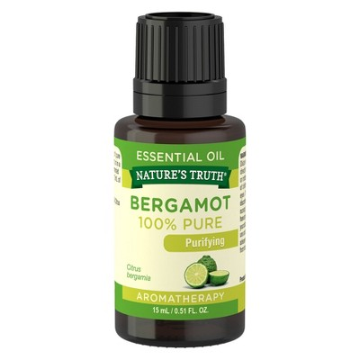 Nature's Truth Bergamot Aromatherapy Essential Oil - 15mL