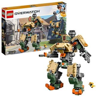LEGO Overwatch 75974 Bastion Building Kit, Overwatch Game Robot Action Figure 602pc