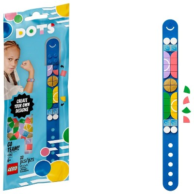 LEGO DOTS Go Team! Bracelet 41911 Cool DIY Craft Bracelet Toy Kit