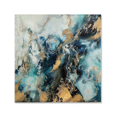 33 X33  High Gloss Marbled Unframed Wall Canvas - Project 62™