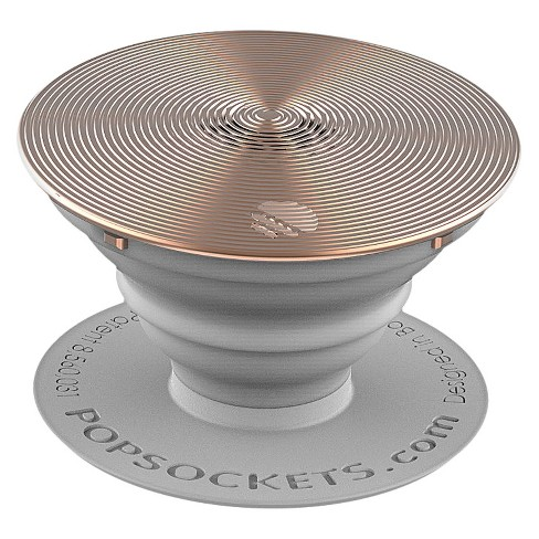 PopSockets Cell Phone Grip & Stand - Rose Gold Spinner - image 1 of 3