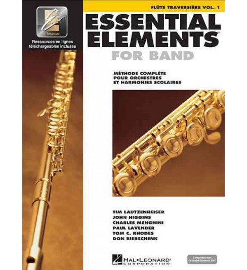 Essential Elements for Band : Methode Complete Pour Orchestres Et Harmonies Scolaires : Flute - image 1 of 1