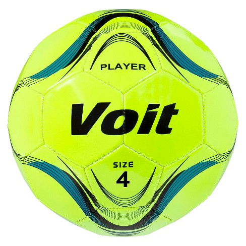 Voit Player Size 4 Deflated Soccer Ball - Neon Yellow   Target 8ec483efa6