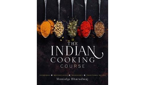 Indian Cooking Course : Techniques - Masterclasses - Ingredients - 300 Recipes (Hardcover) (Monisha - image 1 of 1