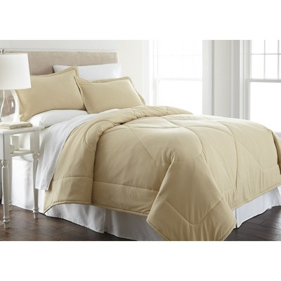 Shavel Micro Flannel High Quality Solid Color Reversible Luxuriously Soft & Warm Comfortable Comforter Mini Set