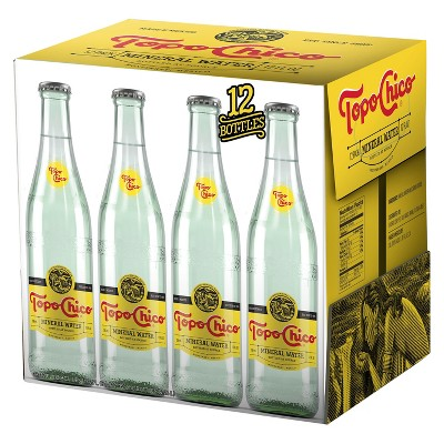 Topo Chico Mineral Water - 12pk/11.5 fl oz Glass Bottles