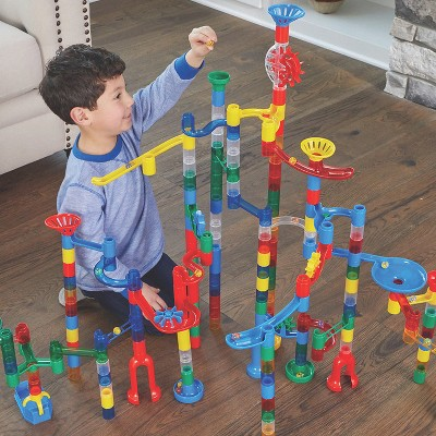 MindWare Mega Marble Run: 215-Piece Set - Building Toys