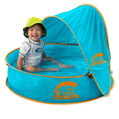Sunshade Pop-Up Portable Pool for Children - HearthSong - image 1 of 2