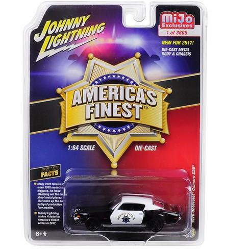 "1970 Chevrolet Camaro Z28 ""America's Finest"" Highway Patrol Hobby Exclusive Ltd Ed 3600pcs 1/64 Diecast Model Autoworld - image 1 of 1"