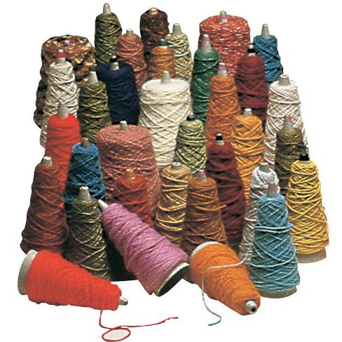 Trait Tex 2-6 Ply Super Yarn Cone Assortment, 10000 yd Value Box, Assorted Color, set of 32 - image 1 of 1