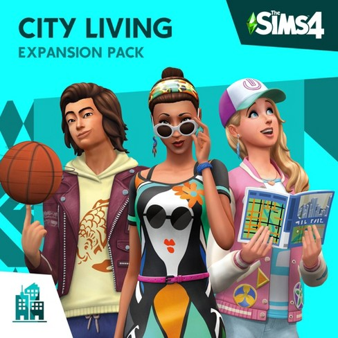 The Sims  4: City Living Expansion Pack - PlayStation 4 (Digital) - image 1 of 1