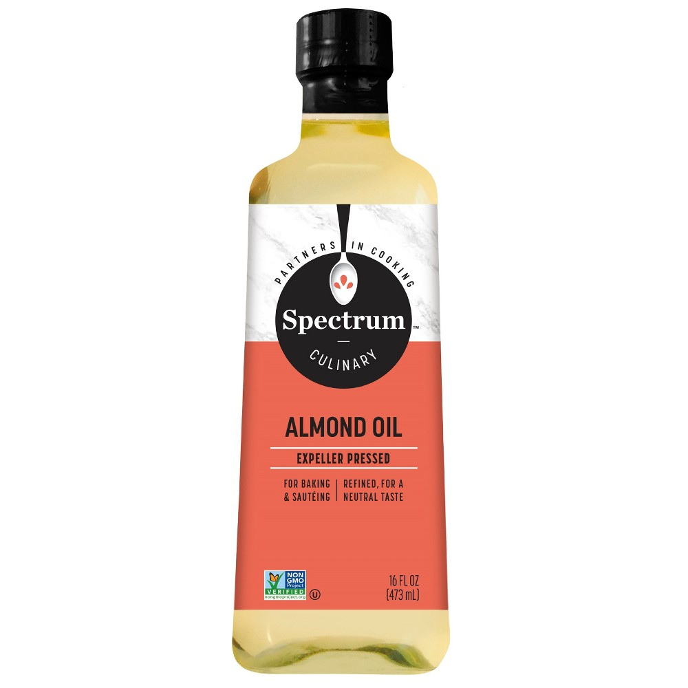 Spectrum Almond Oil 16oz, Cooking and Dipping Oils