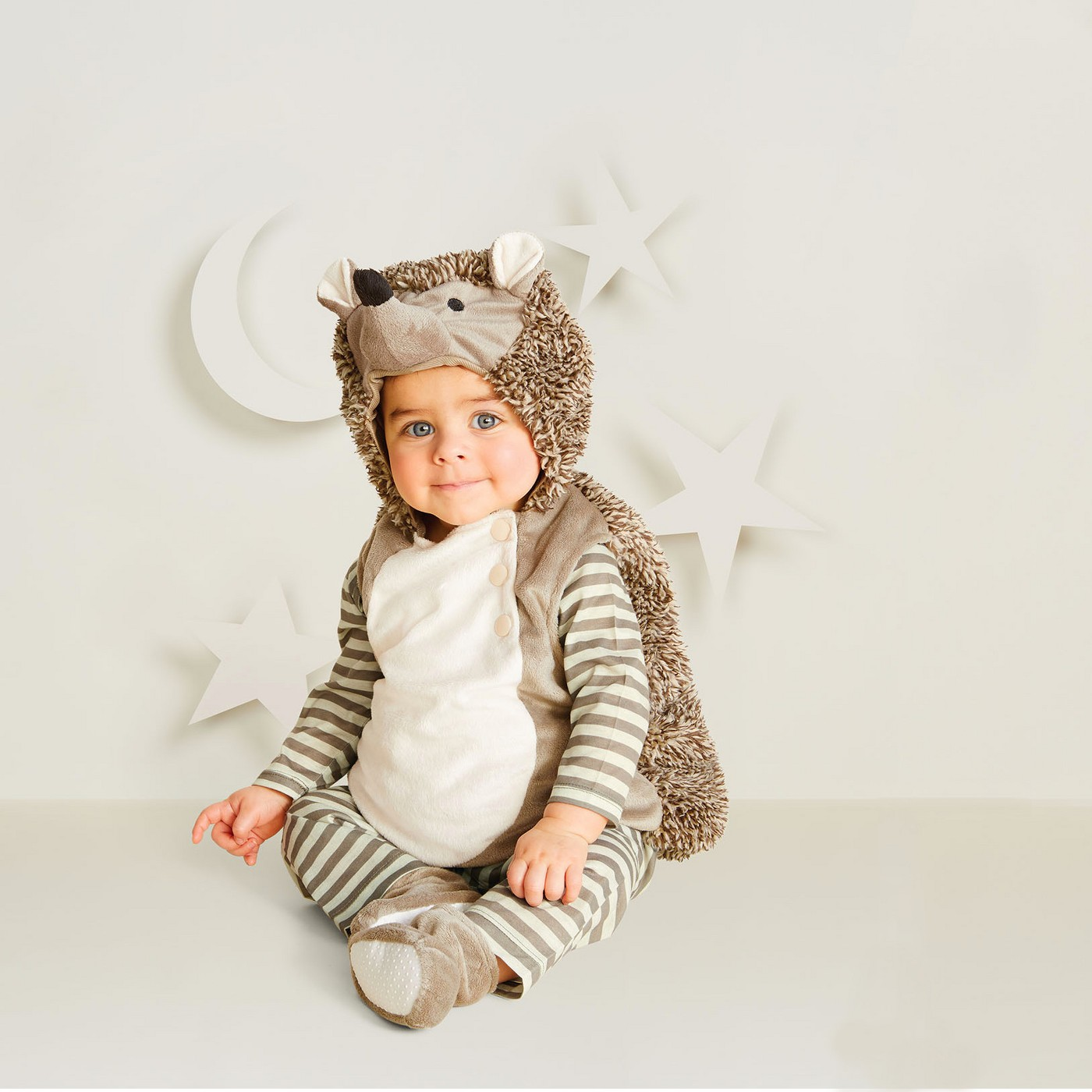 Baby Plush Hedgehog Vest Halloween Costume - Hyde and Eek! Boutique™ - image 1 of 1