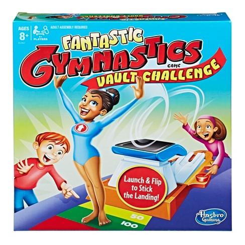 Fantastic Gymnastics Vault Challenge Board Game - image 1 of 4