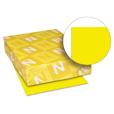 Neenah Paper Astrobrights Colored Paper 24lb 11 x 17 Solar Yellow 500 Sheets/Ream 22533