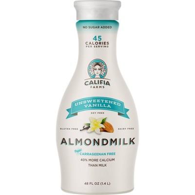 Califia Farms Unsweetened Vanilla Almond Milk - 48 fl oz