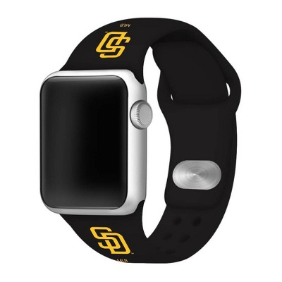 MLB San Diego Padres Apple Watch Compatible Silicone Band 38mm - Blue
