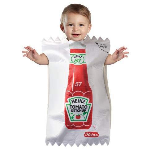 Toddler Heinz Ketchup Packet Bunting Costume - image 1 of 1