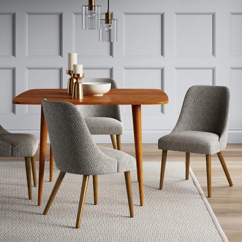 Geller Mid Century Modern Dining Chair Blackwhite Project 62