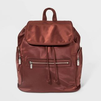 Large Size Flap Backpack - Wild Fable™ Red