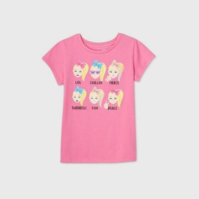 Girls' JoJo Siwa Short Sleeve Graphic T-Shirt - Pink